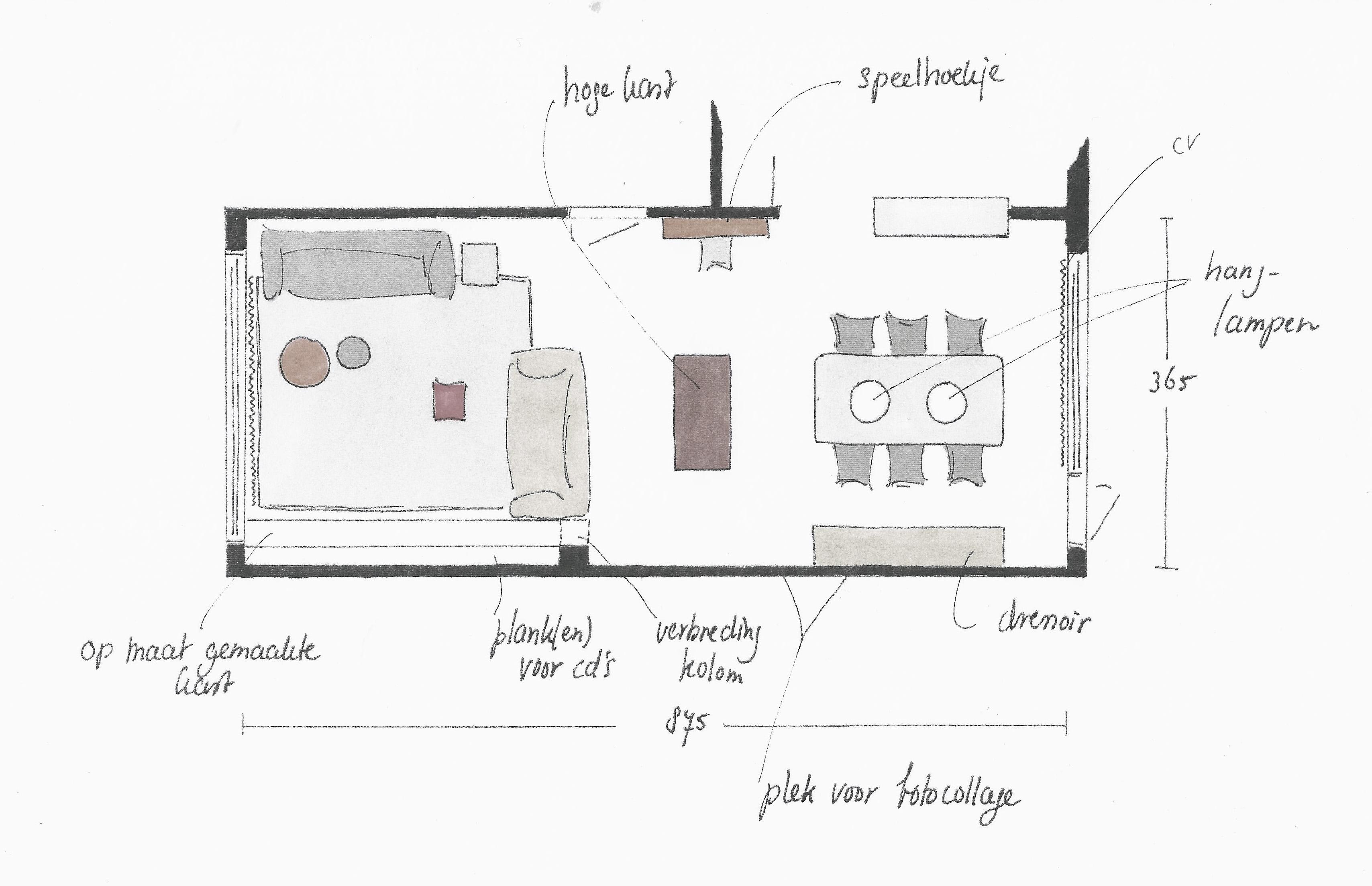 Waar zetten we de meubels havenaar interieurs - Hoe je een centrum eiland keuken te maken ...